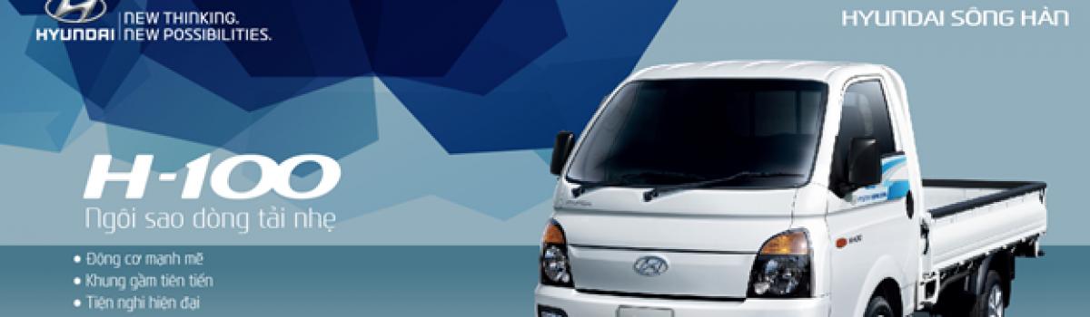 Hyundai Sông Hàn giới thiệu xe tải nhẹ Hyundai PorterH-100