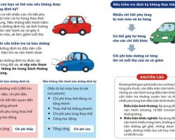 Tất tần tật về bảo dưỡng xe định kỳ