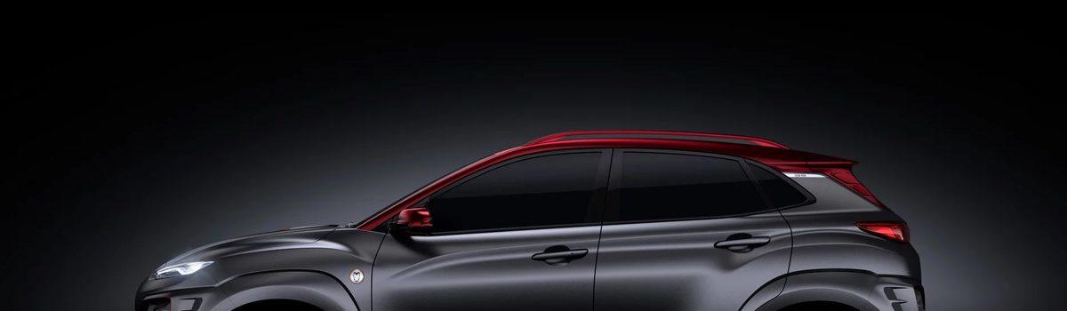 Hyundai Kona ra phiên bản người sắt