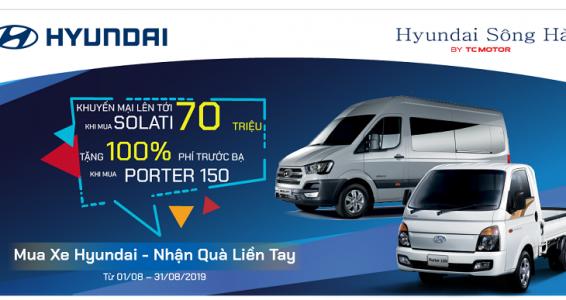 Mua xe Hyundai – Nhận quà liền tay