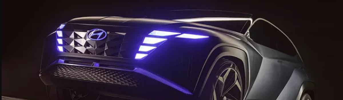 Hyundai Vision T – Bản nháp ấn tượng của Tucson đời mới, Honda CR-V hãy dè chừng